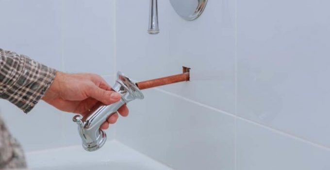 Water Coming Out of Shower Head When Filling Bathtub