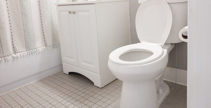 Water Level in Toilet Bowl Keeps Dropping